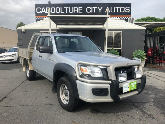 Used Mazda BT-50  B3000 Freestyle DX+ (4x4), 2007 Mazda BT-50 B3000 Freestyle DX+ (4x4) Silver 5 Speed Manual Cab Chassis