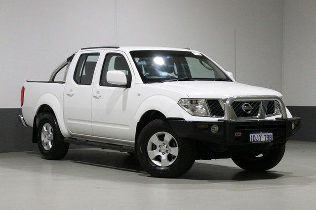 Used Nissan Navara D40 ST (4x4), 2010 Nissan Navara D40 ST (4x4) White 6 Speed Manual Dual Cab Pick-up