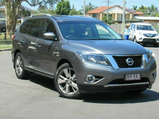 Used Nissan Pathfinder R52 Series II MY17 Ti X-tronic 4WD, 2016 Nissan Pathfinder R52 Series II MY17 Ti X-tronic 4WD Grey 1 Speed Wagon