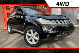 2005 Nissan Murano Z50 TI Black 6 Speed Wagon