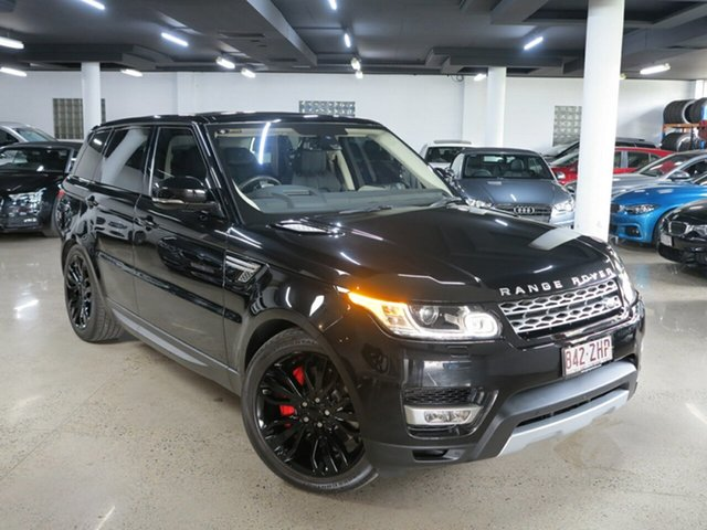 Used Land Rover Range Rover Sport L494 16MY SDV6 HSE, 2015 Land Rover Range Rover Sport L494 16MY SDV6 HSE Black 8 Speed Sports Automatic Wagon