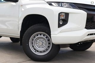 2020 Mitsubishi Triton MR MY20 GLX Double Cab ADAS White 6 Speed Sports Automatic Utility.