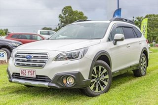 2017 Subaru Outback B6A MY17 2.5i CVT AWD Premium Crystal White 6 Speed Constant Variable Wagon.