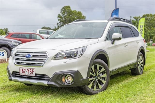 Used Subaru Outback B6A MY17 2.5i CVT AWD Premium, 2017 Subaru Outback B6A MY17 2.5i CVT AWD Premium Crystal White 6 Speed Constant Variable Wagon