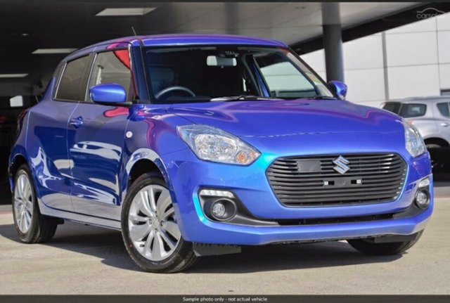 New Suzuki Swift AZ GL Navigator Safety Pack, 2019 Suzuki Swift AZ GL Navigator Safety Pack Speedy Blue 1 Speed Constant Variable Hatchback