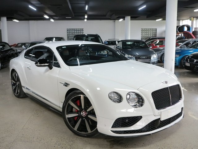 Used Bentley Continental 3W MY16 GT V8 S, 2015 Bentley Continental 3W MY16 GT V8 S Glacier White 8 Speed Sports Automatic Coupe