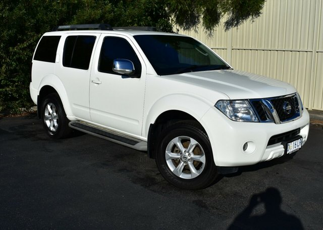 Used Nissan Pathfinder R51 MY10 ST-L, 2012 Nissan Pathfinder R51 MY10 ST-L White 6 Speed Manual Wagon