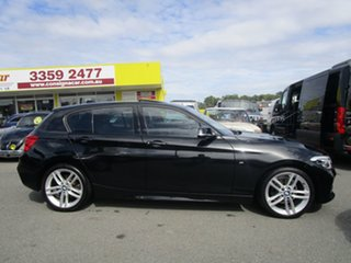 2016 BMW 1 Series F20 LCI 118d Steptronic M Sport Black 8 Speed Sports Automatic Hatchback