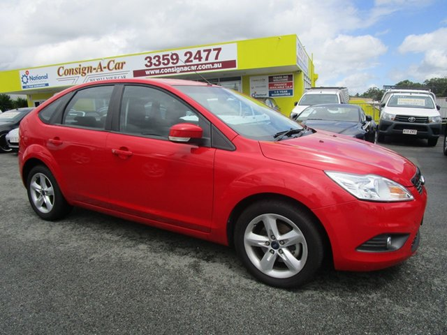 Used Ford Focus LV TDCi, 2009 Ford Focus LV TDCi Red 6 Speed Manual Hatchback