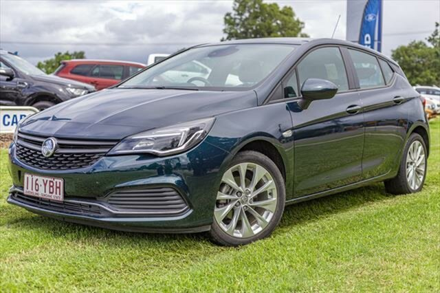 Used Holden Astra BK MY18.5 R, 2018 Holden Astra BK MY18.5 R Blue 6 Speed Sports Automatic Hatchback