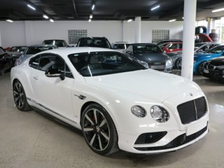 2015 Bentley Continental 3W MY16 GT V8 S Glacier White 8 Speed Sports Automatic Coupe.