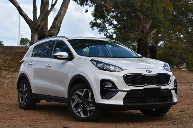 Demo Kia Sportage QL MY19 Si 2WD Premium, 2019 Kia Sportage QL MY19 Si 2WD Premium Clear White 6 Speed Sports Automatic Wagon