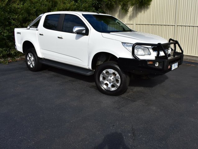 Used Holden Colorado RG MY16 LTZ Crew Cab, 2015 Holden Colorado RG MY16 LTZ Crew Cab Summit White 6 Speed Sports Automatic Utility