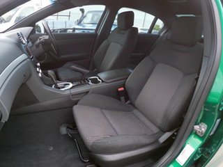 2011 Holden Commodore VE SV6 Green 6 Speed Automatic Sedan