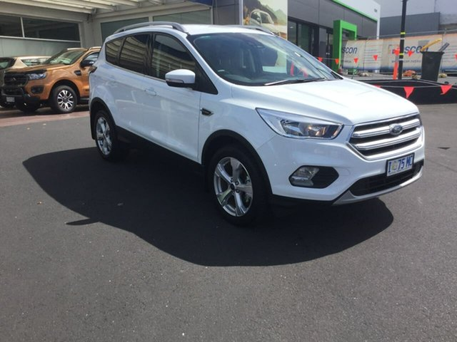 Used Ford Escape ZG 2019.75MY Trend 2WD, 2019 Ford Escape ZG 2019.75MY Trend 2WD White 6 Speed Sports Automatic Wagon