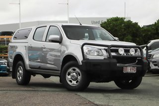2014 Holden Colorado RG MY14 LX Crew Cab Silver 6 Speed Sports Automatic Utility.