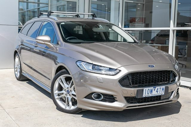 Used Ford Mondeo MD 2018.75MY Titanium PwrShift, 2018 Ford Mondeo MD 2018.75MY Titanium PwrShift Silver 6 Speed Sports Automatic Dual Clutch Wagon