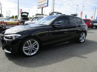 2016 BMW 1 Series F20 LCI 118d Steptronic M Sport Black 8 Speed Sports Automatic Hatchback.