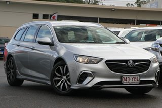 2017 Holden Commodore ZB MY18 RS Sportwagon Silver 9 Speed Sports Automatic Wagon.