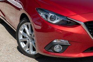 2014 Mazda 3 BM5238 SP25 SKYACTIV-Drive GT Red 6 Speed Sports Automatic Sedan.
