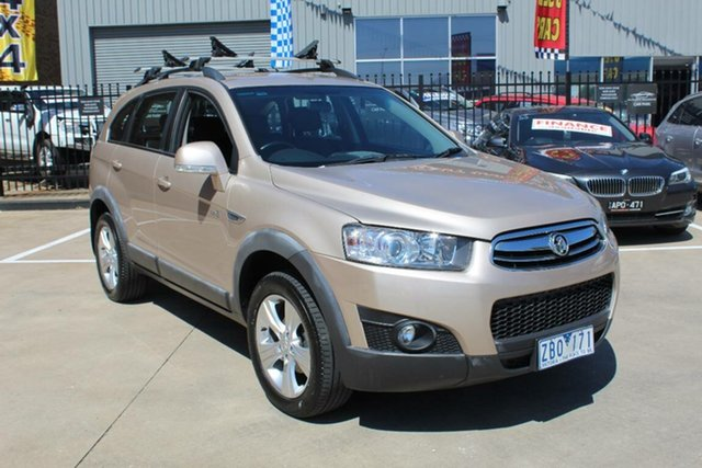 Used Holden Captiva CG Series II 7 CX (4x4), 2012 Holden Captiva CG Series II 7 CX (4x4) Beige 6 Speed Automatic Wagon