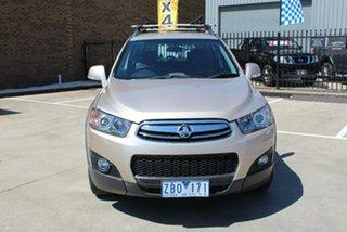 2012 Holden Captiva CG Series II 7 CX (4x4) Beige 6 Speed Automatic Wagon.