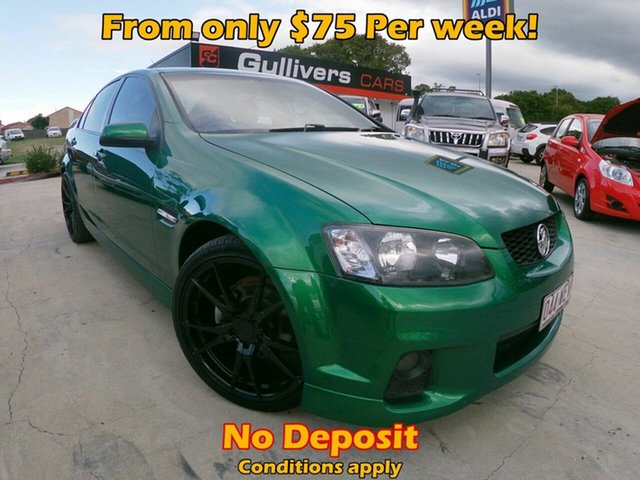 Used Holden Commodore  , 2011 Holden Commodore VE SV6 Green 6 Speed Automatic Sedan
