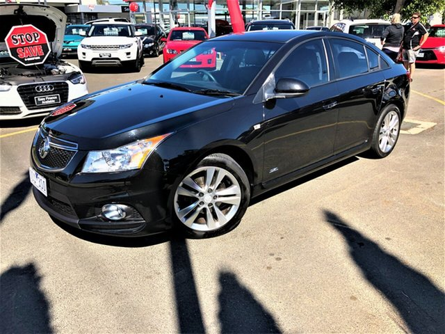 Used Holden Cruze JH Series II MY14 SRi Z Series Seaford, 2014 Holden Cruze JH Series II MY14 SRi Z Series Black 6 Speed Sports Automatic Sedan