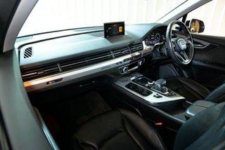 2016 Audi Q7 4M MY16 TDI Tiptronic Quattro Silver 8 Speed Sports Automatic Wagon