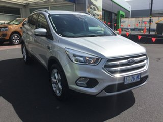 2018 Ford Escape ZG 2019.25MY Trend 2WD Silver 6 Speed Sports Automatic Wagon.
