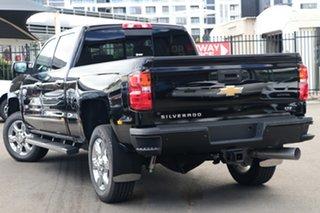2019 Chevrolet Silverado CK MY18 2500 LTZ Custom Sport Edition Black 6 Speed Automatic.