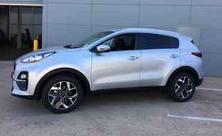 2019 Kia Sportage QL MY20 SX+ AWD Sparkling Silver 8 Speed Sports Automatic Wagon.