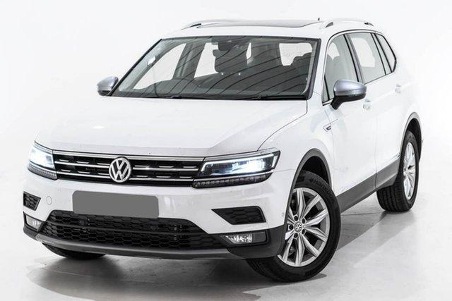 Used Volkswagen Tiguan 5N MY19 132TSI Comfortline DSG 4MOTION Allspace, 2018 Volkswagen Tiguan 5N MY19 132TSI Comfortline DSG 4MOTION Allspace White 7 Speed