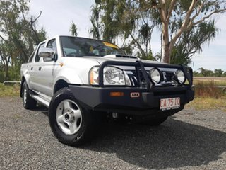 2012 Nissan Navara D22 S5 MY12 ST-R Special Edition Silver 5 Speed Manual Utility.