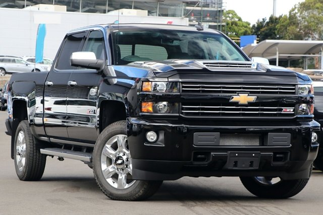 New Chevrolet Silverado CK MY18 2500 LTZ Custom Sport Edition, 2019 Chevrolet Silverado CK MY18 2500 LTZ Custom Sport Edition Black 6 Speed Automatic