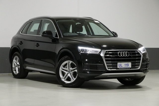 Used Audi Q5 FY MY18 2.0 TDI Quattro Design, 2018 Audi Q5 FY MY18 2.0 TDI Quattro Design Black 7 Speed Auto S-Tronic Wagon
