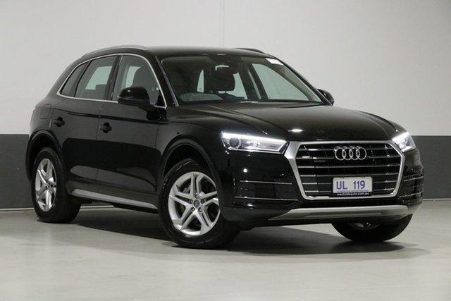 Used Audi Q5 FY MY18 2.0 TDI Quattro Design, 2018 Audi Q5 FY MY18 2.0 TDI Quattro Design Black 7 Speed Auto S-Tronic Wagon