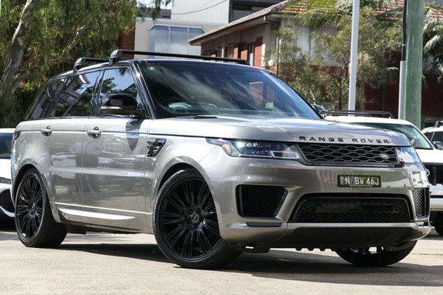 Used Land Rover Range Rover Sport L494 19MY SDV6 HSE, 2018 Land Rover Range Rover Sport L494 19MY SDV6 HSE Bronze 8 Speed Sports Automatic Wagon
