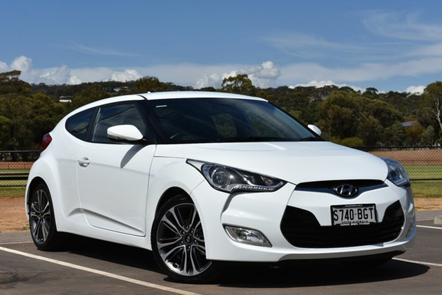 Used Hyundai Veloster FS4 Series II Coupe D-CT, 2015 Hyundai Veloster FS4 Series II Coupe D-CT White 6 Speed Sports Automatic Dual Clutch Hatchback