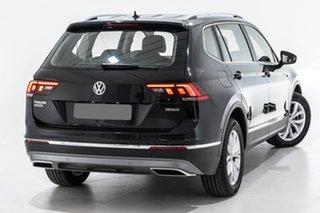 2018 Volkswagen Tiguan 5N MY18 110TDI Comfortline DSG 4MOTION Allspace Black 7 Speed.