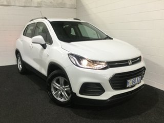 2017 Holden Trax TJ MY18 LS Summit White 6 Speed Automatic Wagon.