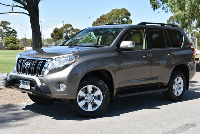 Used Toyota Landcruiser Prado KDJ150R MY14 GXL, 2013 Toyota Landcruiser Prado KDJ150R MY14 GXL Bronze 5 Speed Sports Automatic Wagon