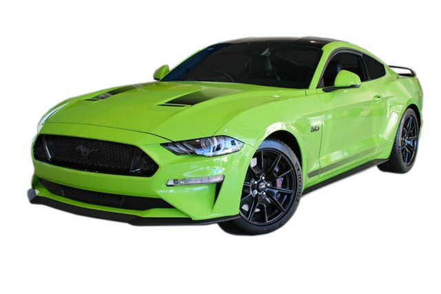 New Ford Mustang FN 2020MY GT Fastback SelectShift RWD, 2019 Ford Mustang FN 2020MY GT Fastback SelectShift RWD Grabber Lime 10 Speed Sports Automatic