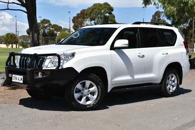 Used Toyota Landcruiser Prado KDJ150R GXL, 2010 Toyota Landcruiser Prado KDJ150R GXL White 5 Speed Automatic Wagon