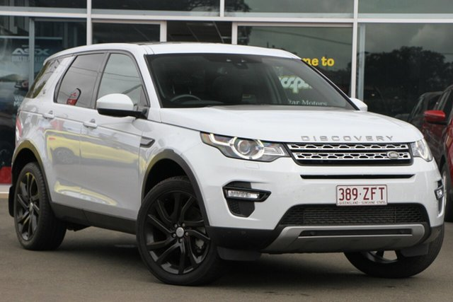 Used Land Rover Discovery Sport L550 16.5MY Td4 HSE, 2015 Land Rover Discovery Sport L550 16.5MY Td4 HSE White 9 Speed Sports Automatic Wagon