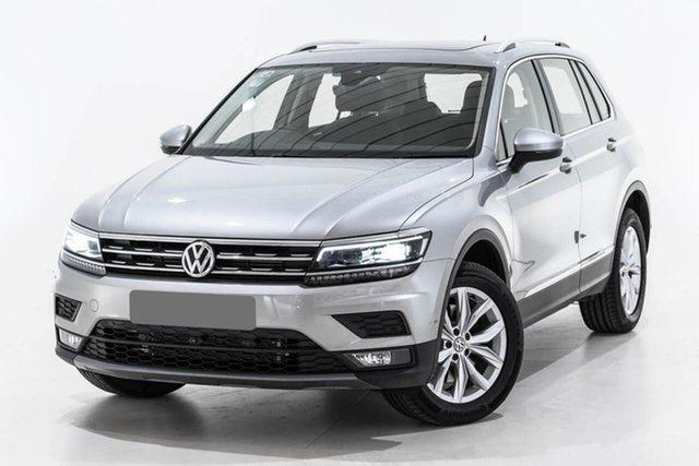 Used Volkswagen Tiguan 5N MY19.5 132TSI DSG 4MOTION Comfortline, 2019 Volkswagen Tiguan 5N MY19.5 132TSI DSG 4MOTION Comfortline Silver 7 Speed
