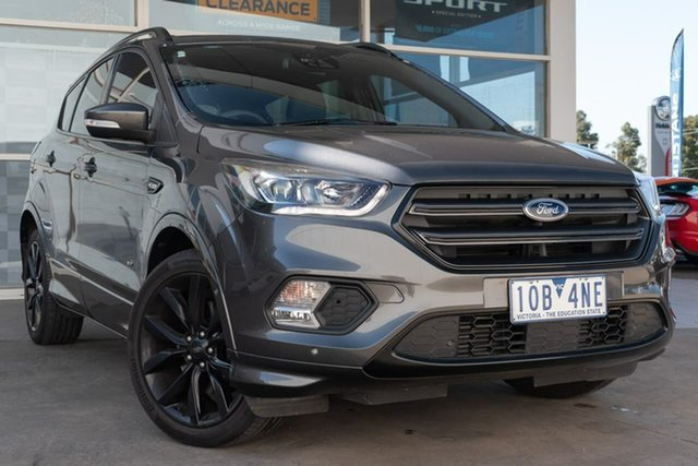 Used Ford Escape ZG 2018.75MY ST-Line AWD, 2018 Ford Escape ZG 2018.75MY ST-Line AWD 6 Speed Sports Automatic Wagon