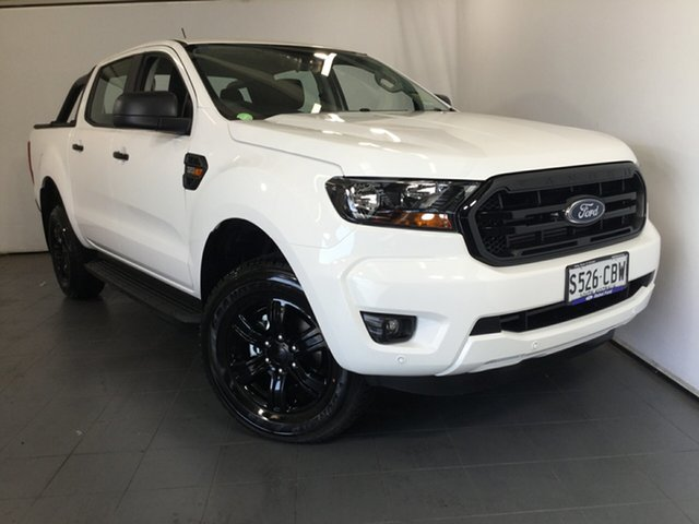 Demo Ford Ranger PX MkIII 2020.25MY Sport Pick-up Double Cab, 2020 Ford Ranger PX MkIII 2020.25MY Sport Pick-up Double Cab Arctic White 6 Speed Manual Utility
