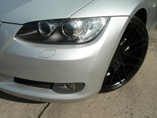 2007 BMW 3 Series E92 MY08 325i Steptronic Titanium Silver 6 Speed Sports Automatic Coupe