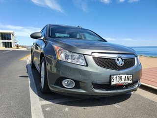 2011 Holden Cruze JH Series II MY11 CD Silver Frost 6 Speed Sports Automatic Sedan